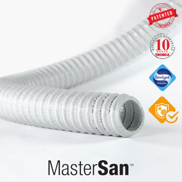 Tubi flessibili MasterSan per sanificazione aria