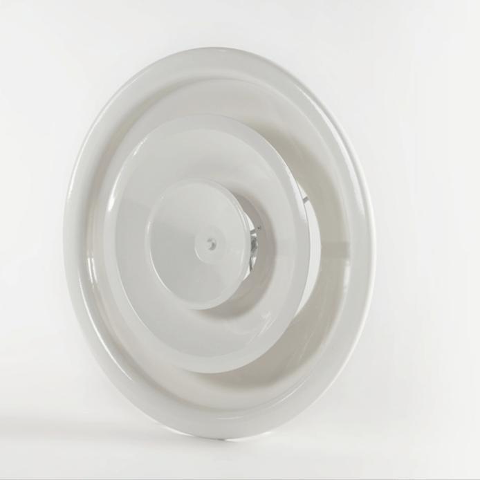 Diffusore circolare aria ventilata