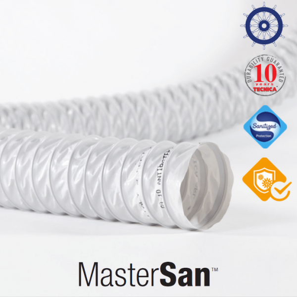 Tubi flessibili MasterSan per impianti
