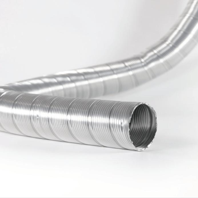 tubo flessibile alluminio per impianti industriali