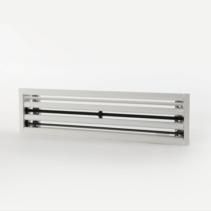 Slotted linear diffusers
